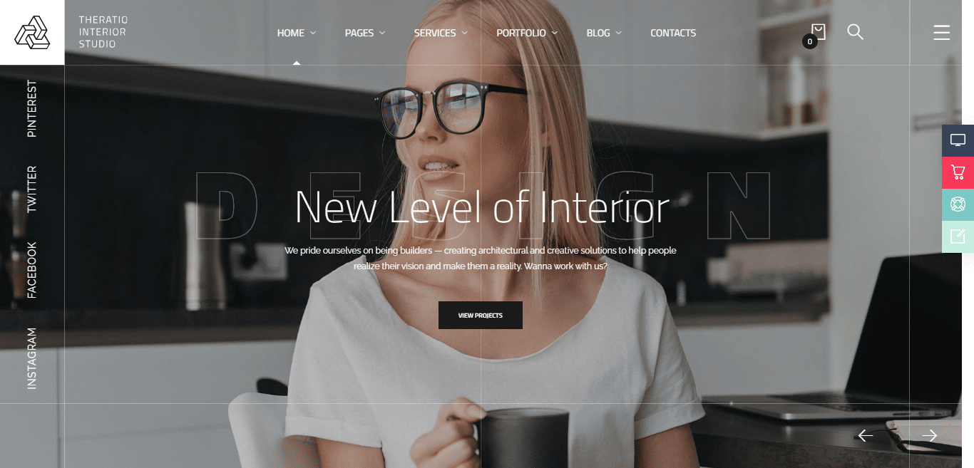 theratio-interior-design-website-template