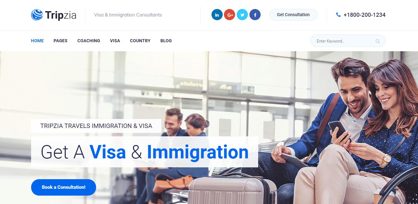 tripzia-travel-website-template