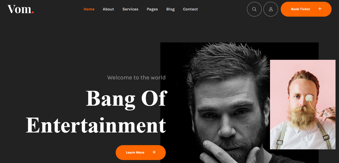 vom-video-website-template