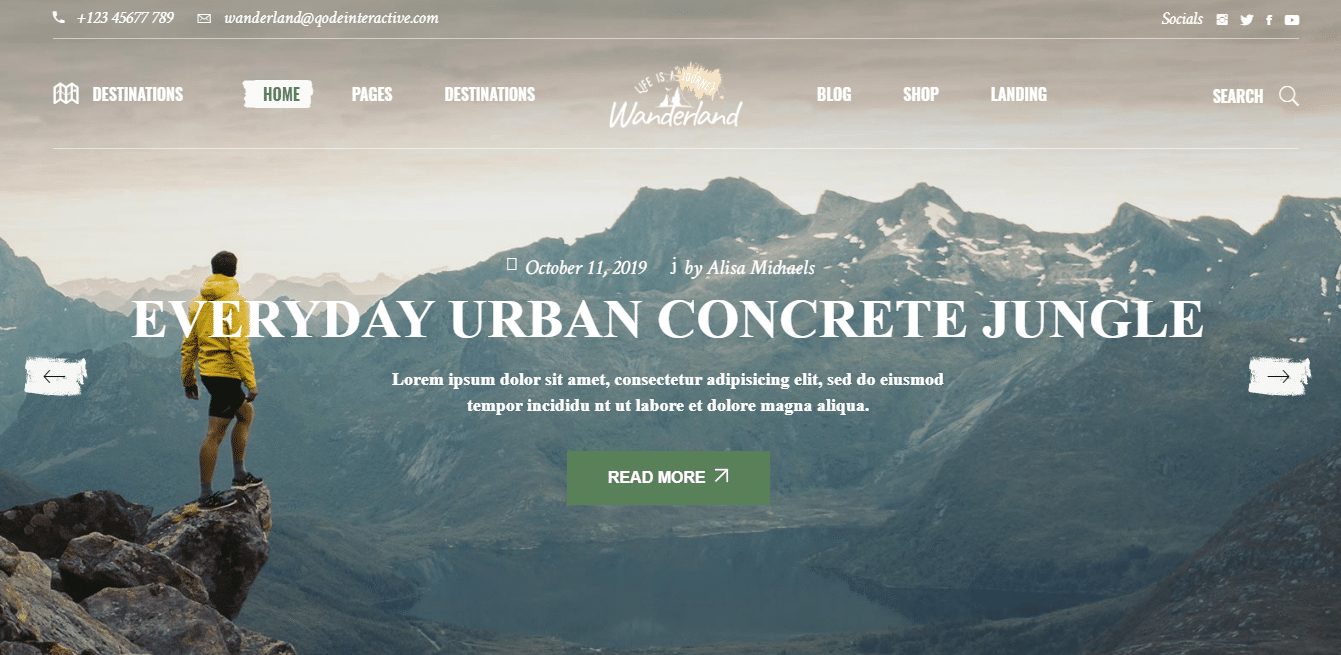 wanderlust-travel-website-template