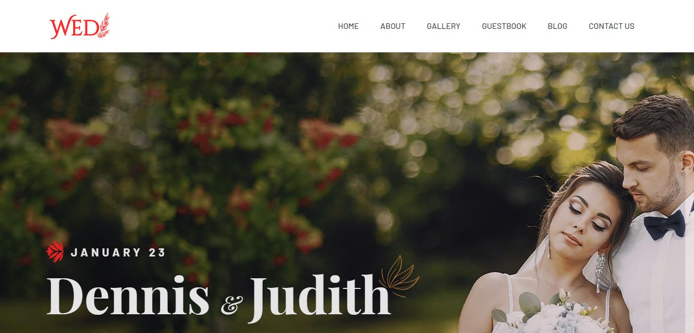 wed-free-wedding-website-template