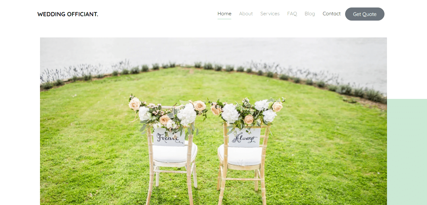 weddingofficiant-free-wedding-website-template