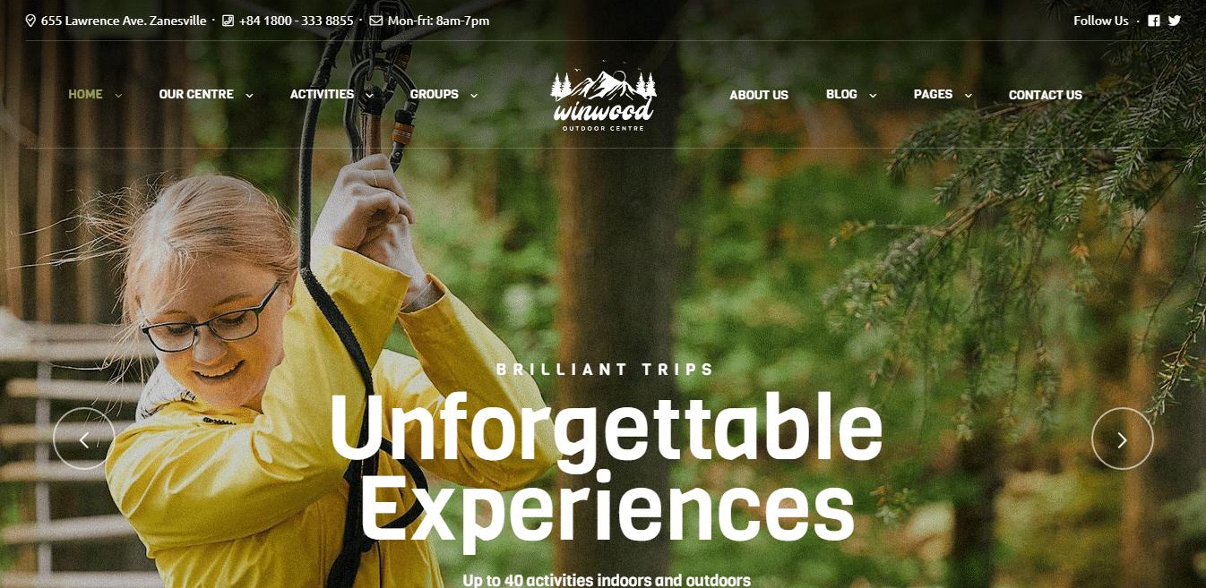 winwood-sports-website-template