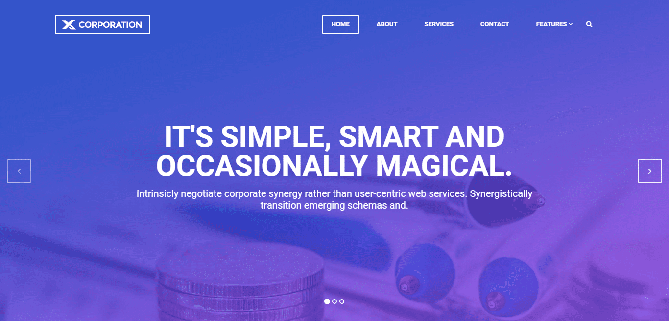 x-corporation-free-it-software-website-template