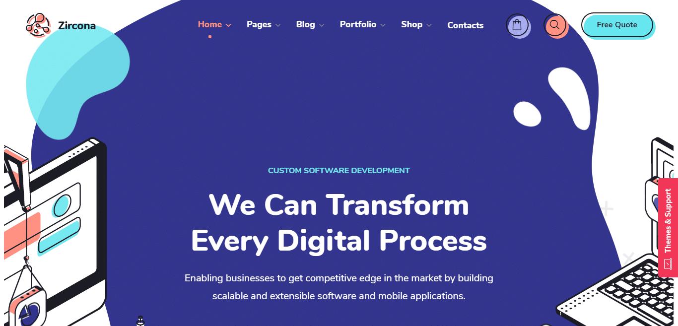 zircona-technology-website-template