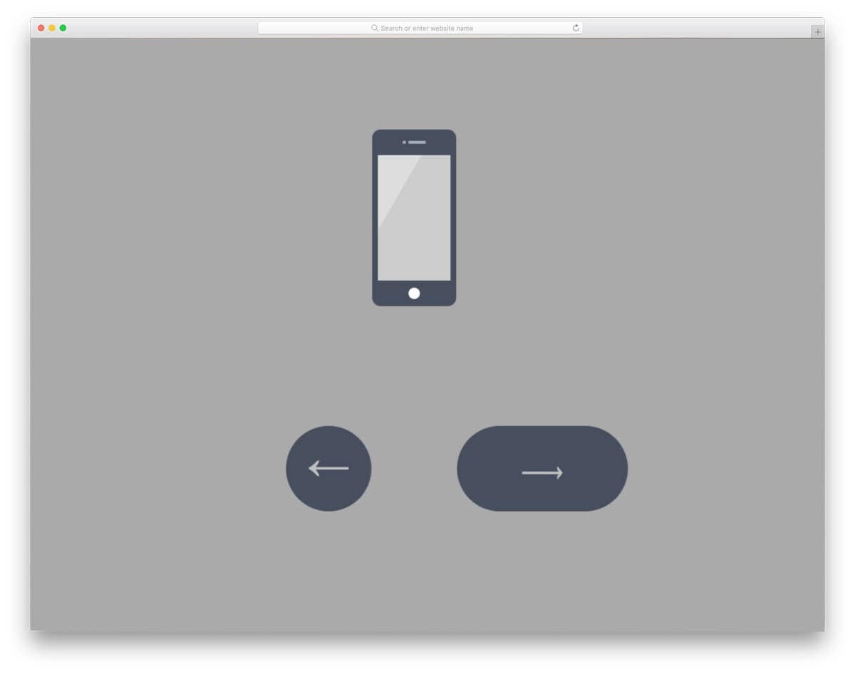 CSS slideshow for products