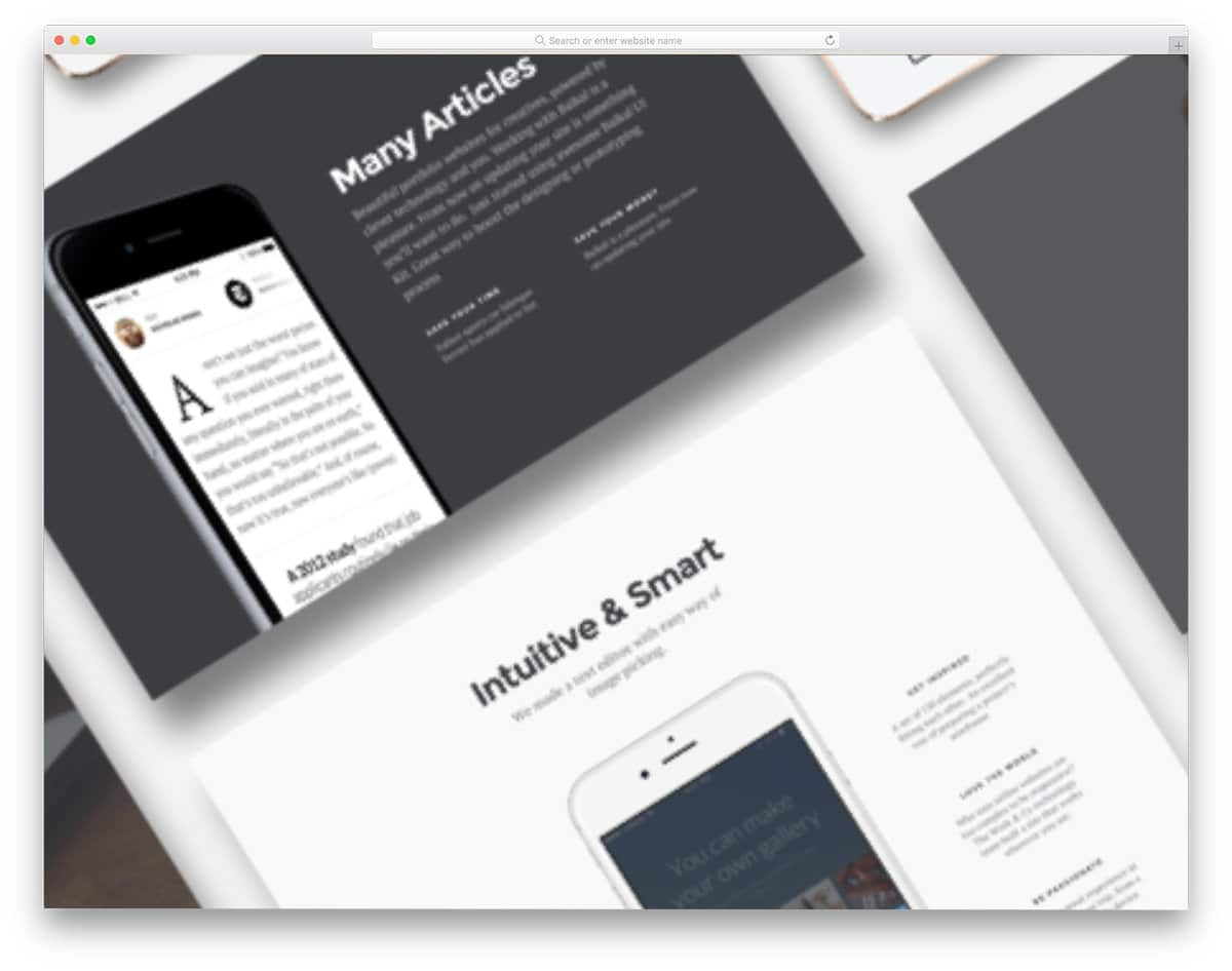 website and app ui kit for business-related designs