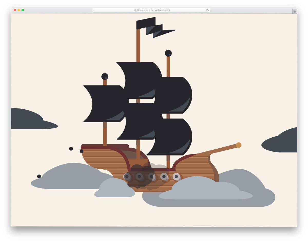 CSS animation scene concept