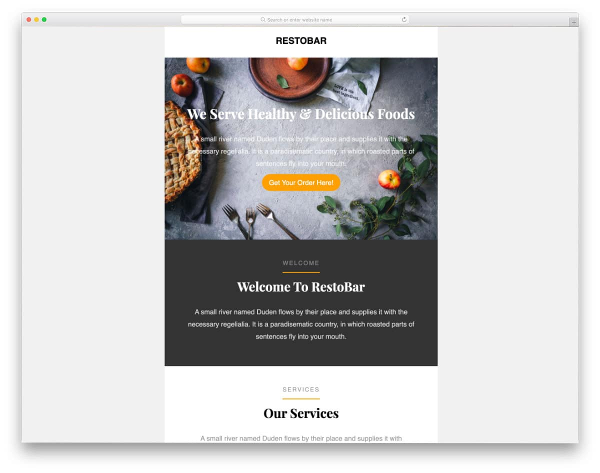 business launch email template