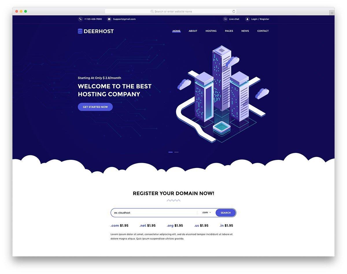 premium quality website template