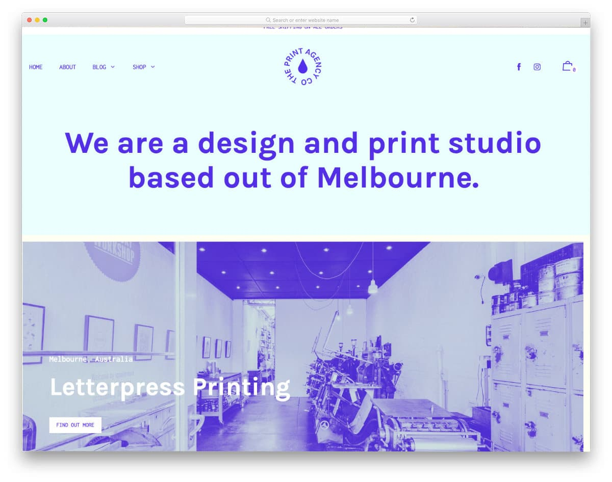 content-focused shopify theme
