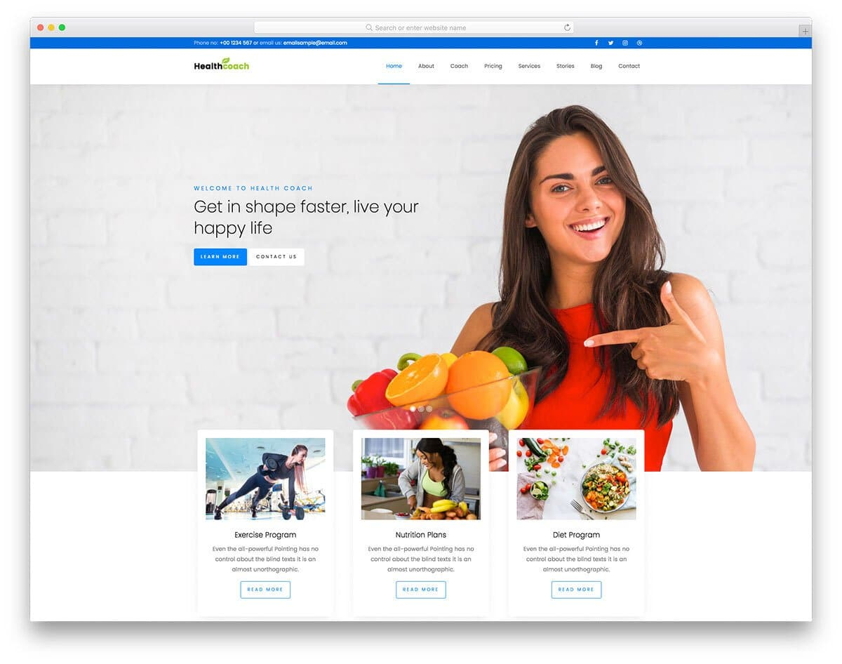 personal-brand boosting website template