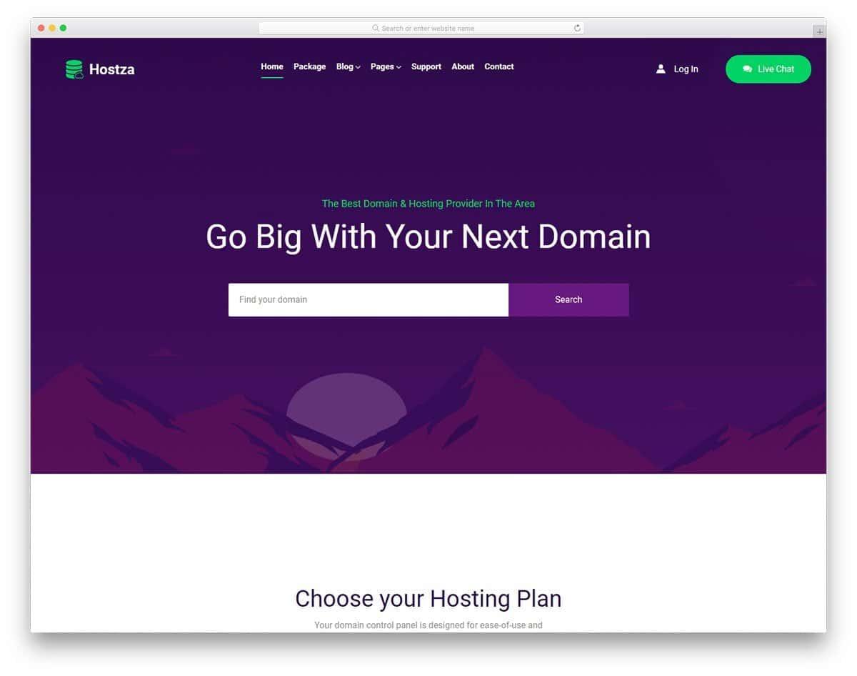 featur-rich website template