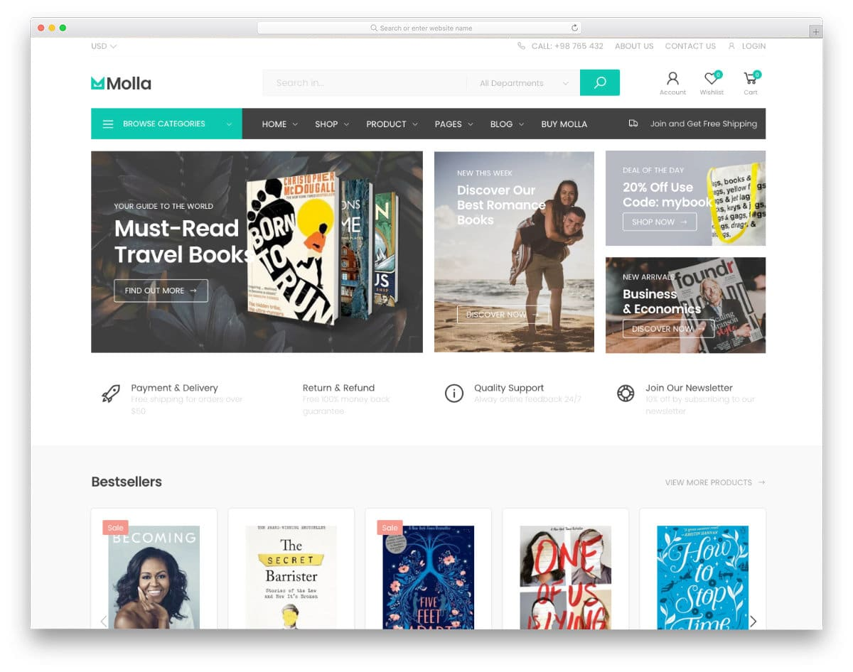 easy-to-customize shopify bookstore theme