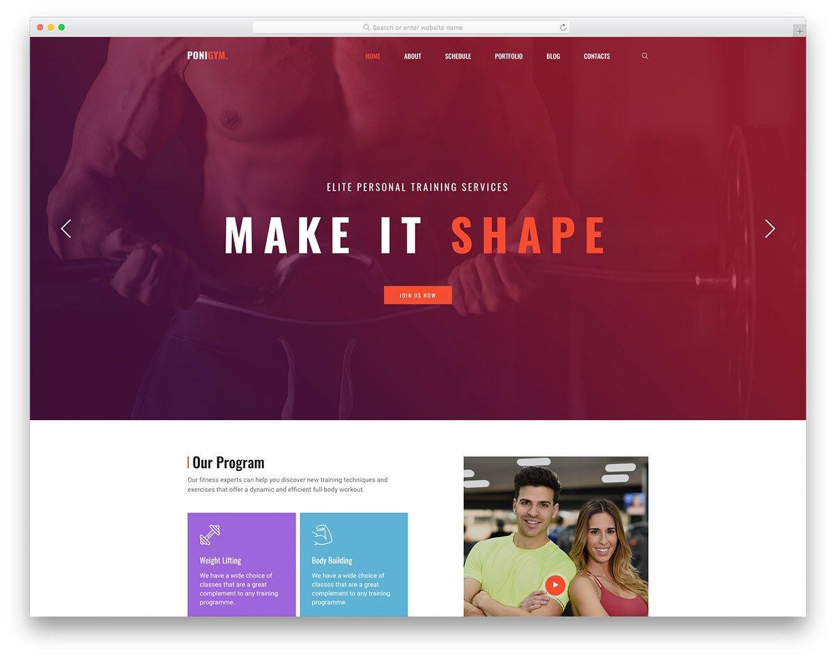 profesional-looking website template