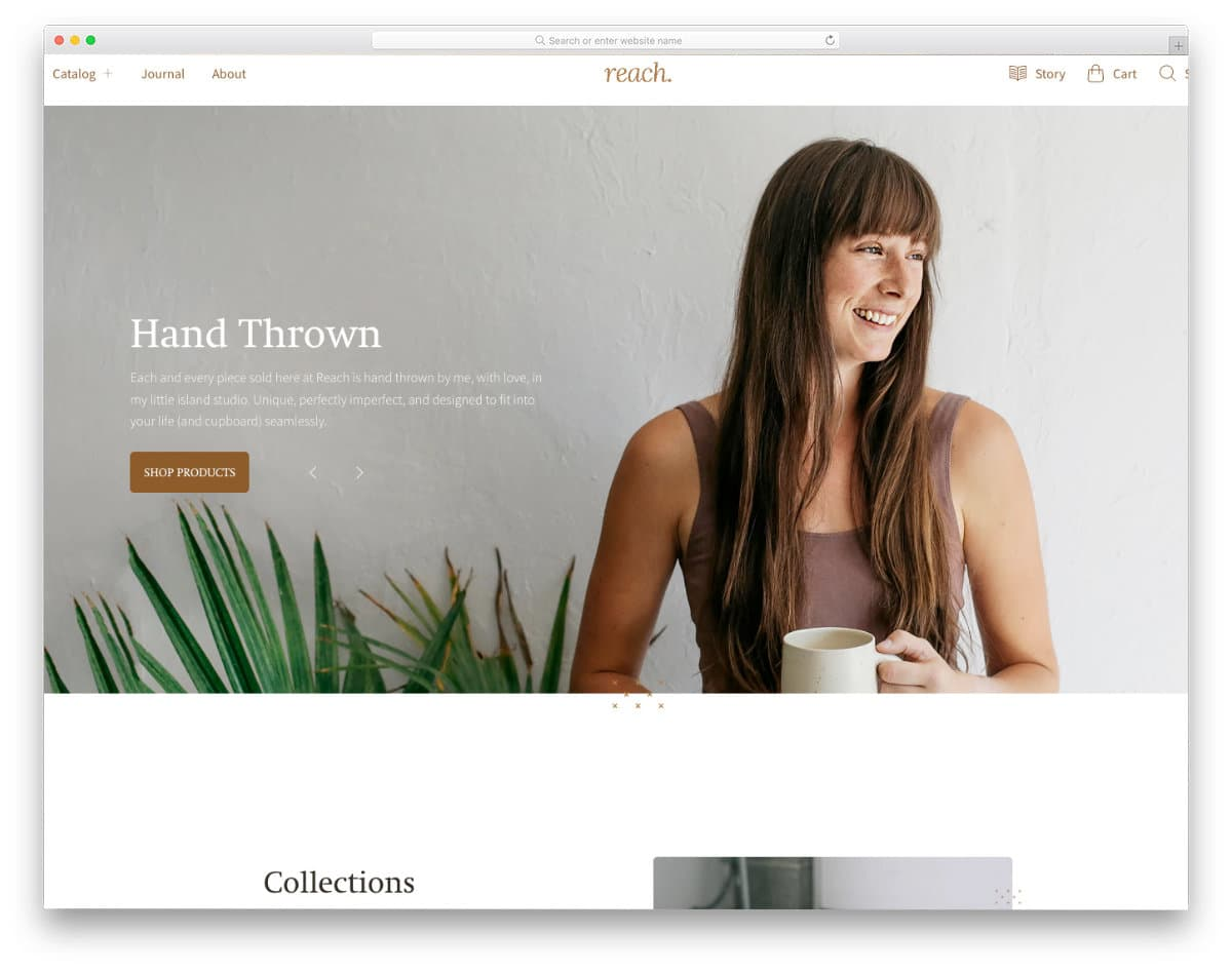 product-focused shopify theme