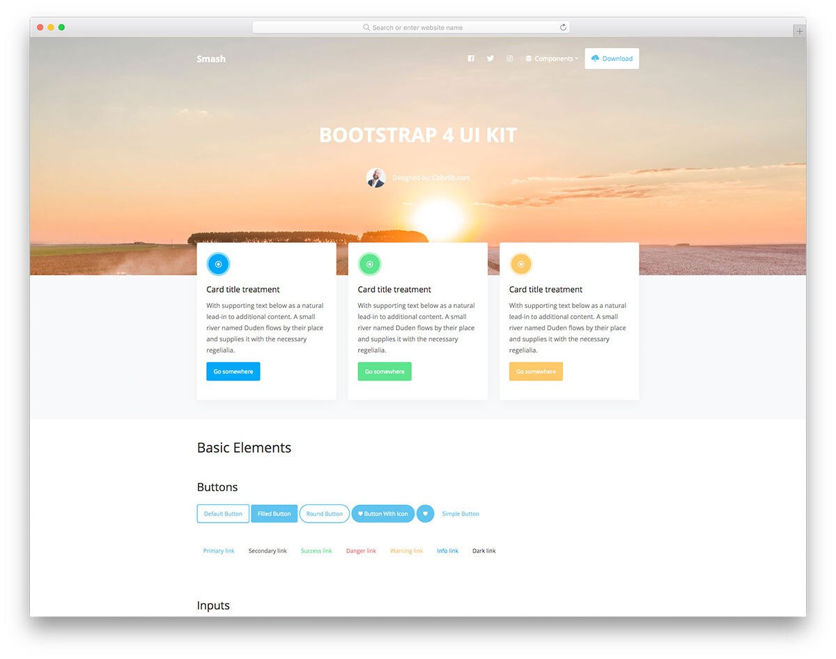 5 Bootstrap Cards Examples For Natural And Fluid User Experience 5