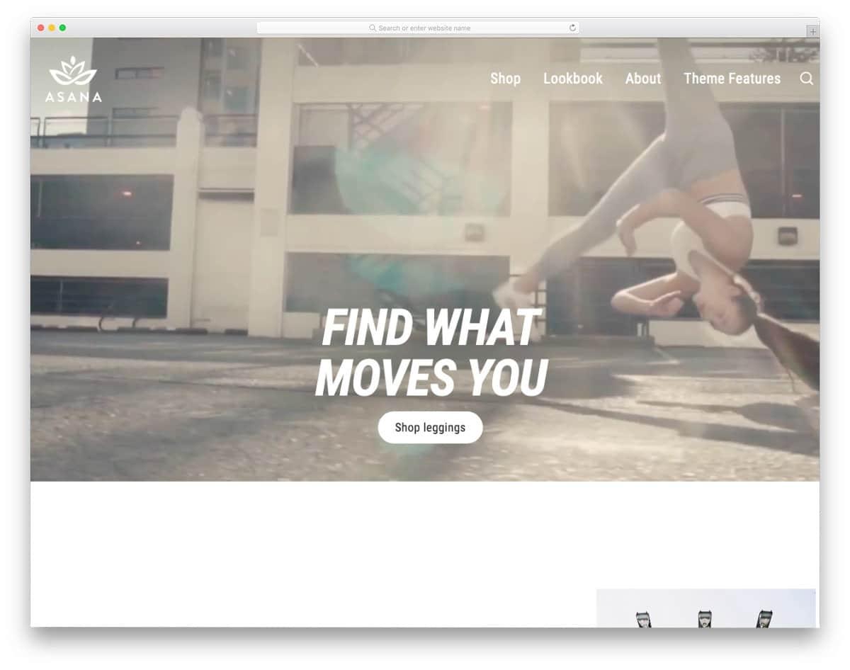 interactive shopify theme