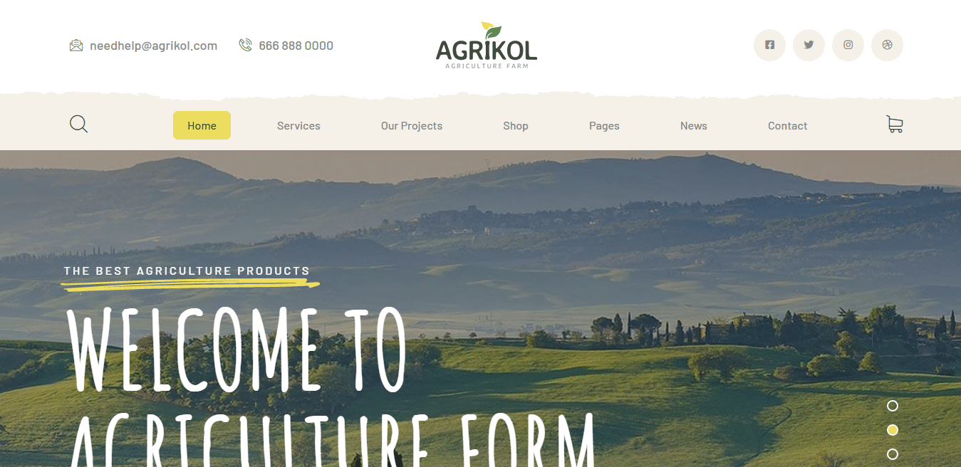 agrikol-agriculture-website-template