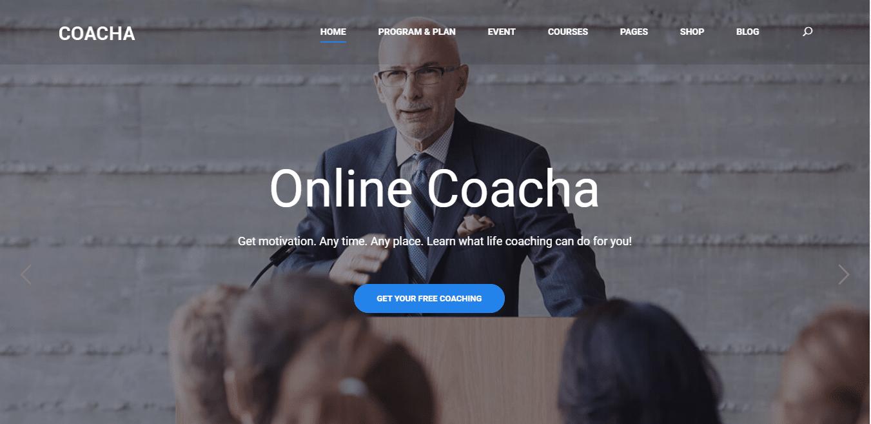 coacha-coaching-website-template
