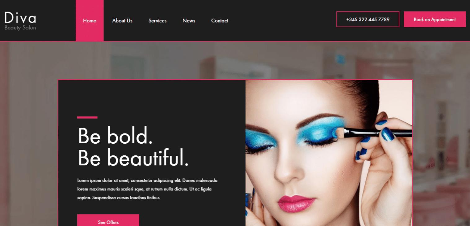 diva-spa-website-template