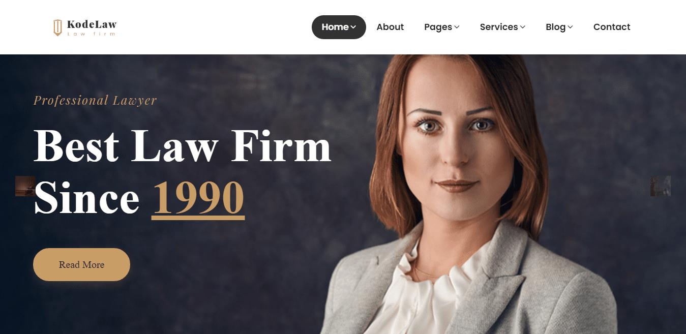 kodelaw-attorney-website-template