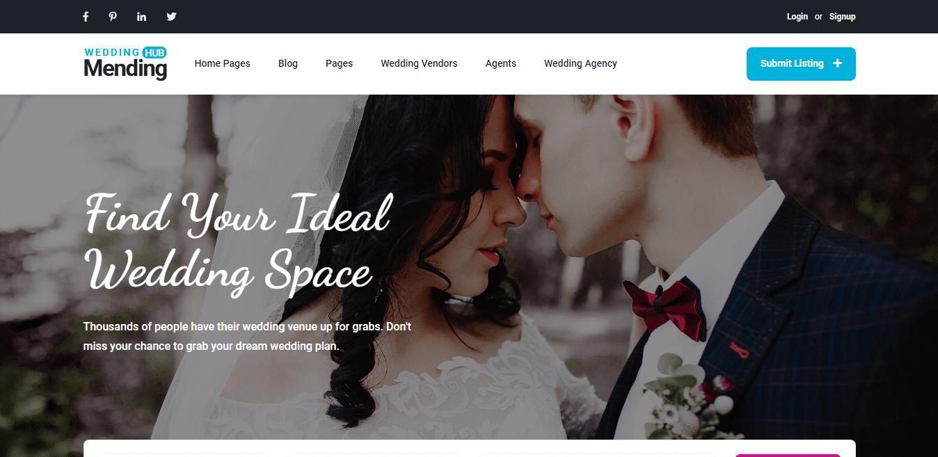 mendinghub-wedding-website-template