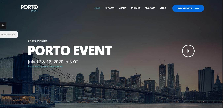 porto-event-website-template