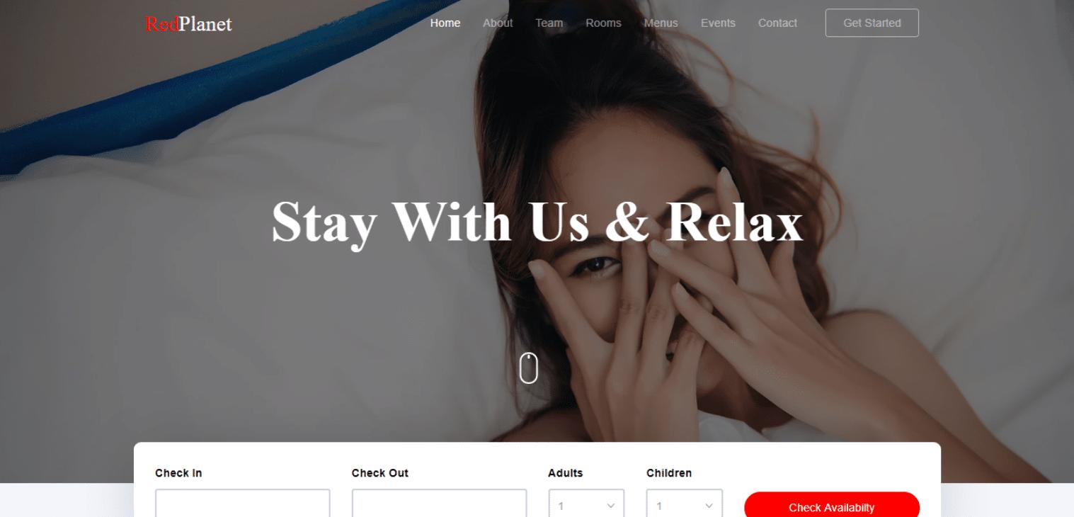 redplanet-spa-website-template