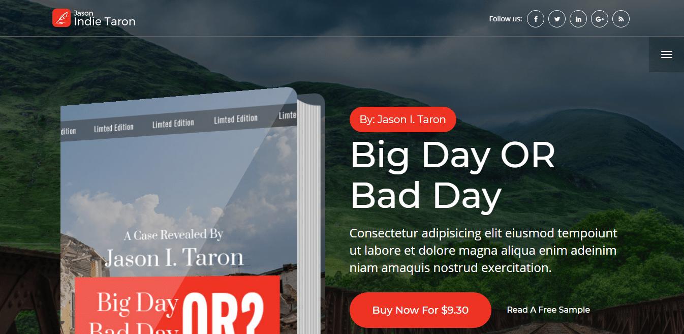 treaser-bookstore-website-template
