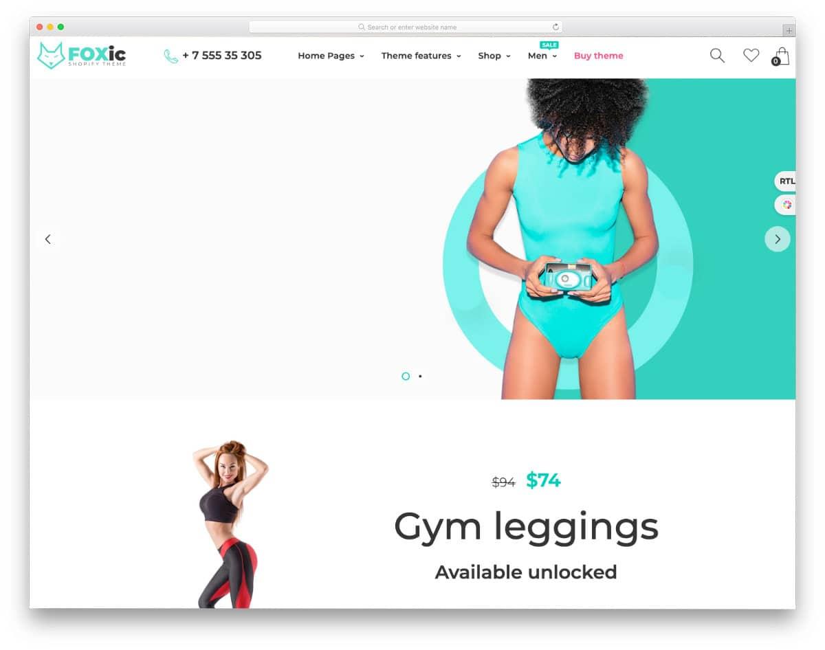stylish Shopify theme