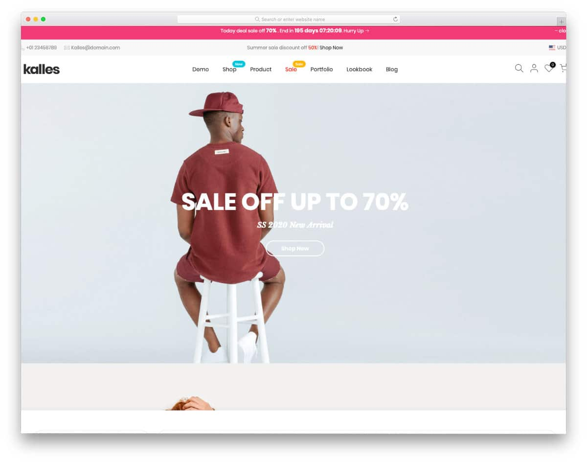multipurpose theme with parallax homepage demo