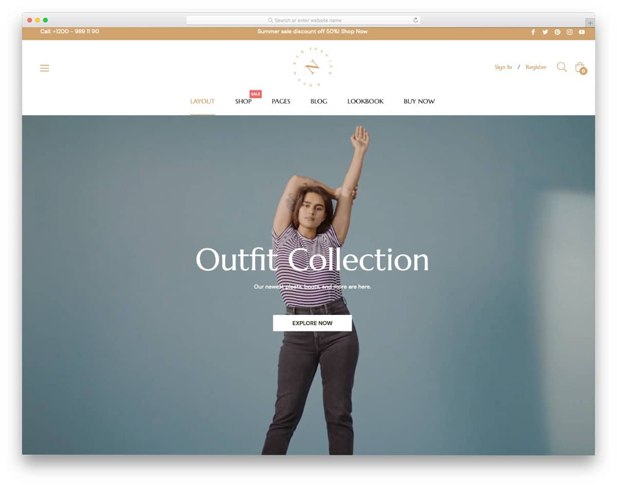 best Shopify parallax theme for visual story telling