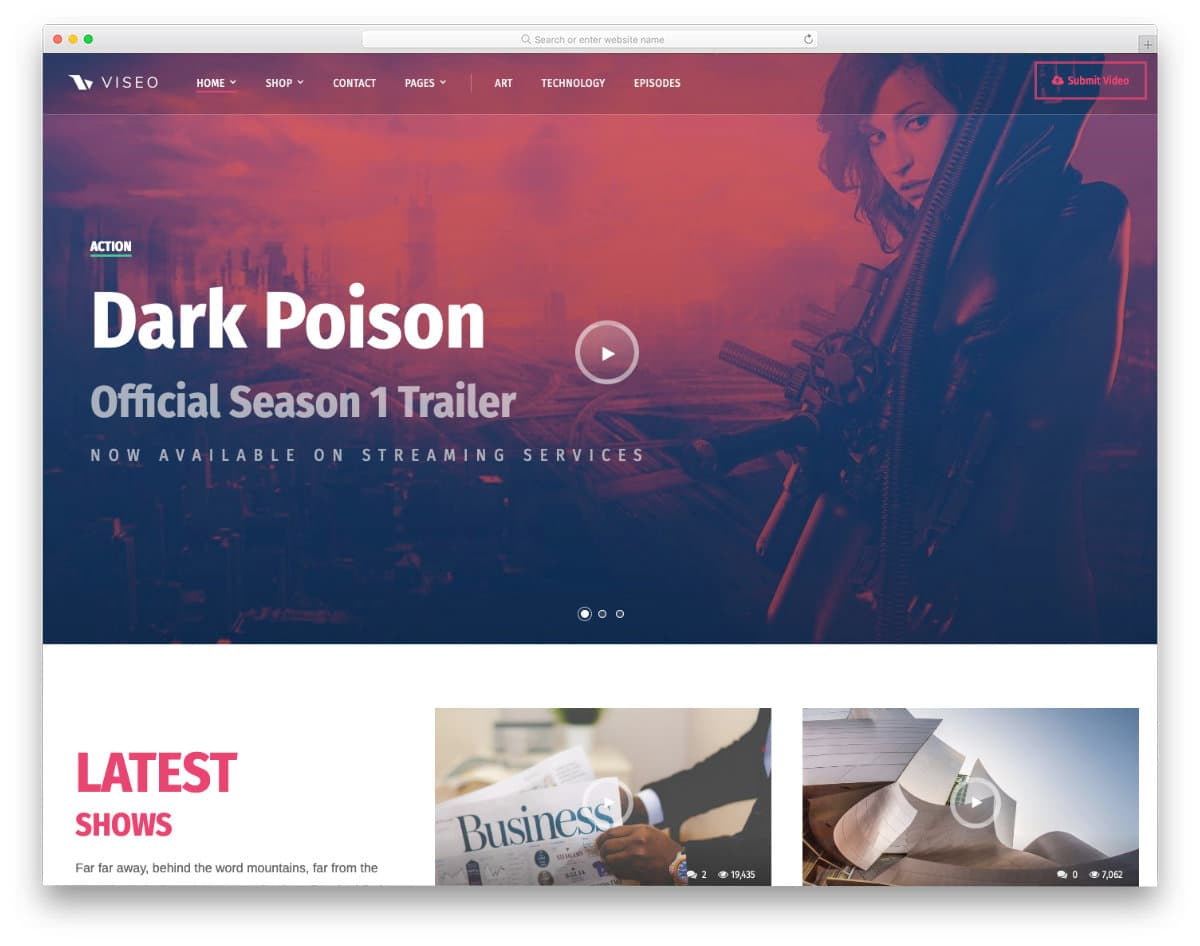 simple yet attractive website template
