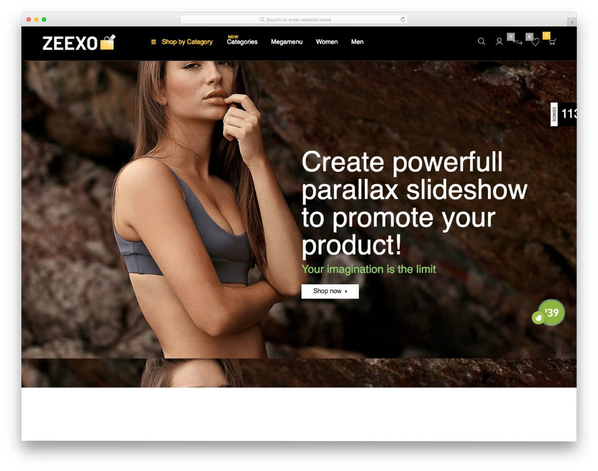 easy-to-edit shopify landing page template