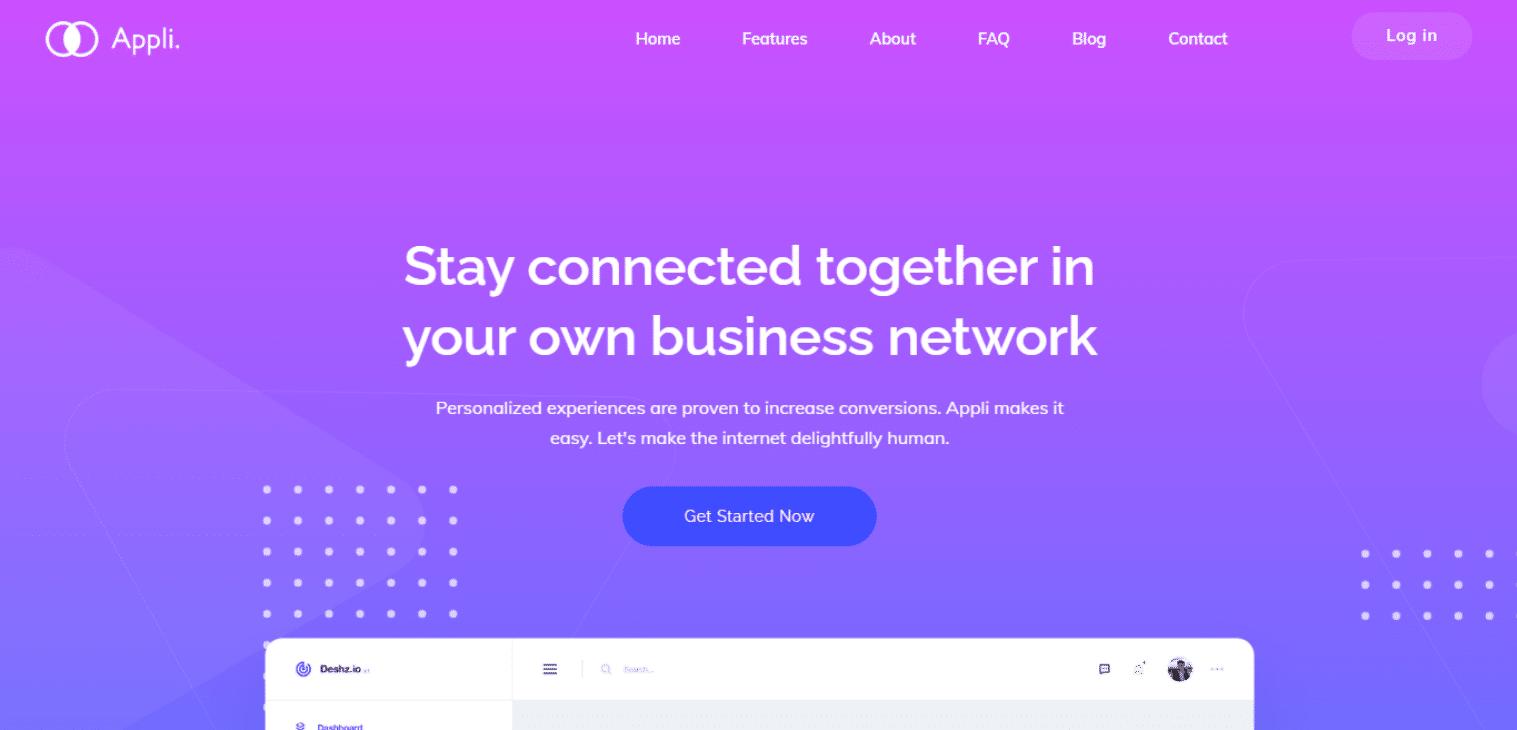 appli-startup-website-template