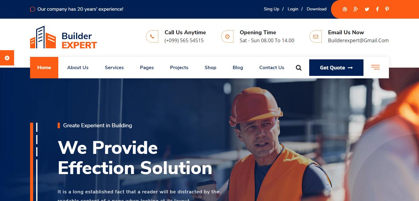 builder-expert-handyman-website-template