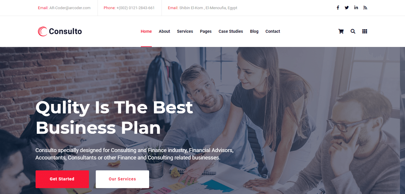 consulto-accounting-website-template