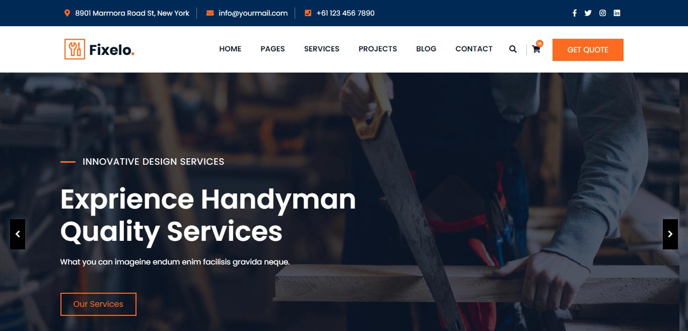 fixelo-handyman-website-template