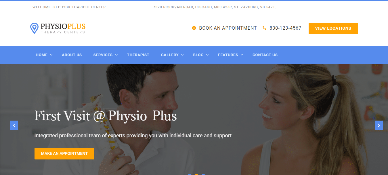 physio-plus-physical-therapy-website-template