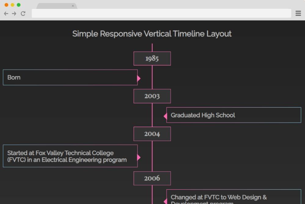 simple-vertical-timeline