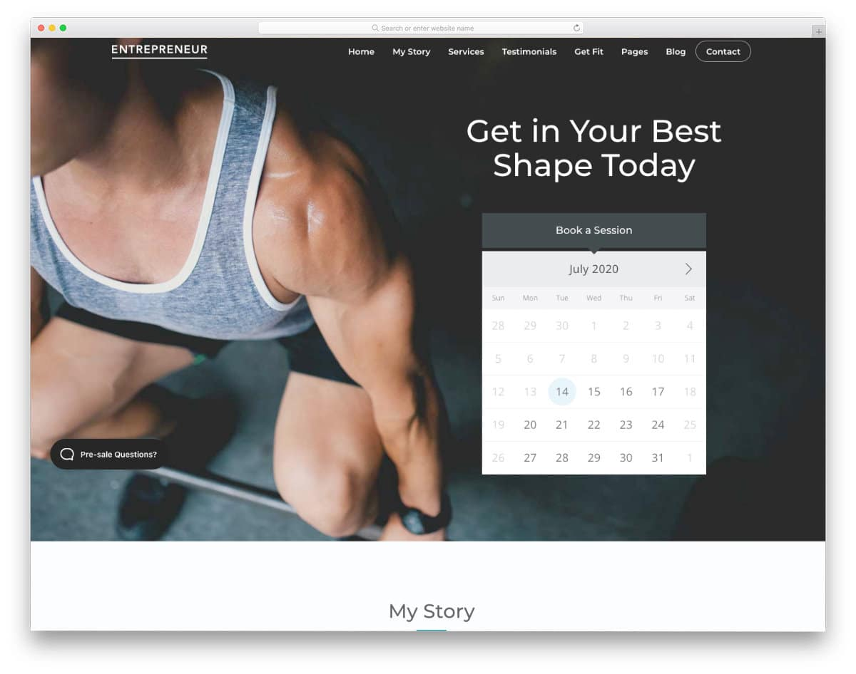martial arts website templates with scheduling options