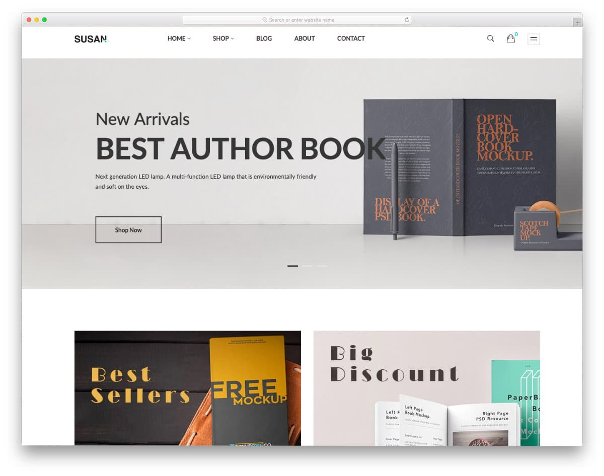 best shopify bookstore theme