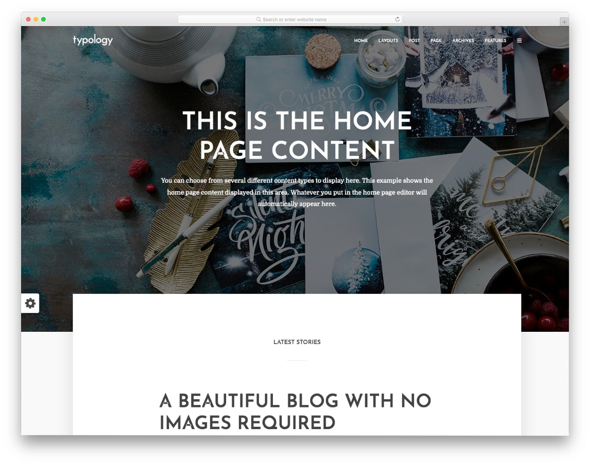 book review website template