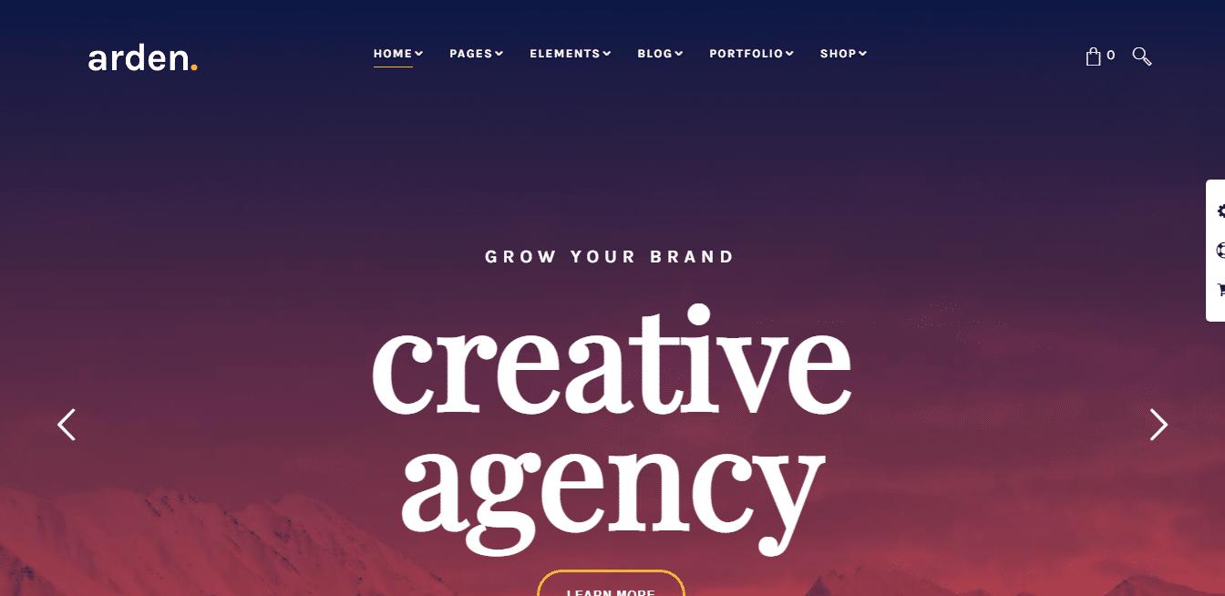 arden-creative-multipurpose-website-template