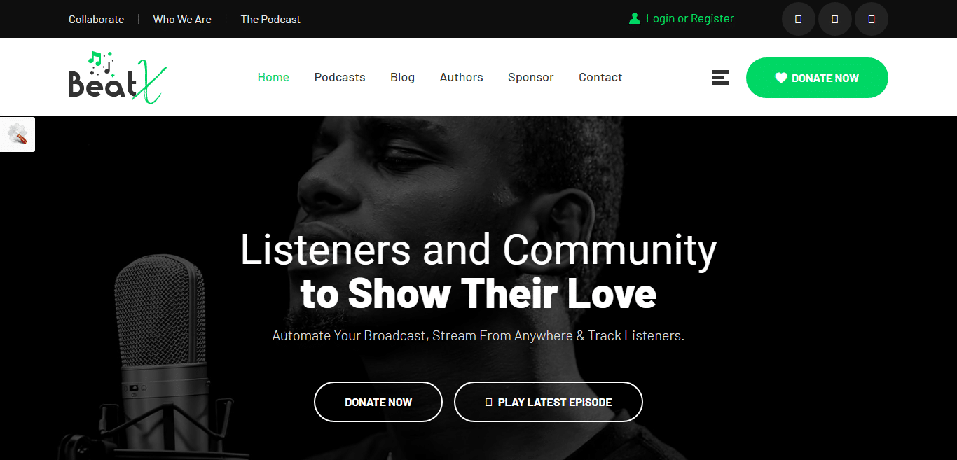 beatx-music-website-template