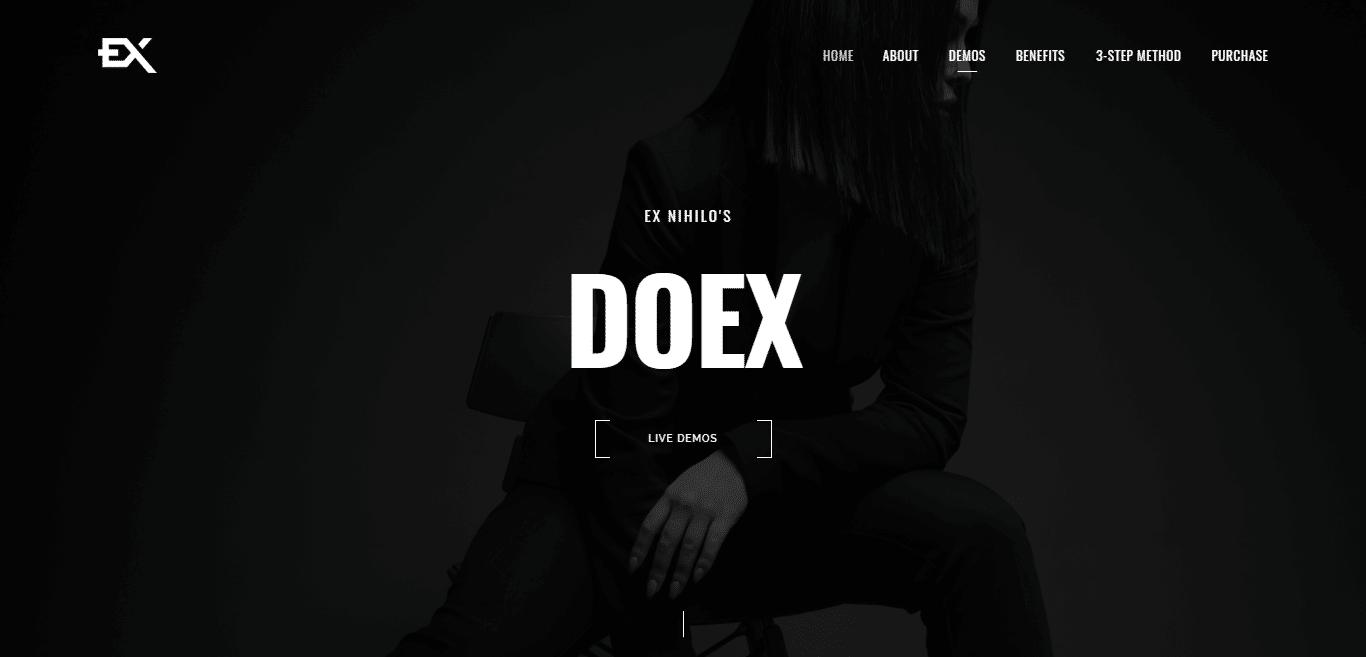 doex-video-website-templates