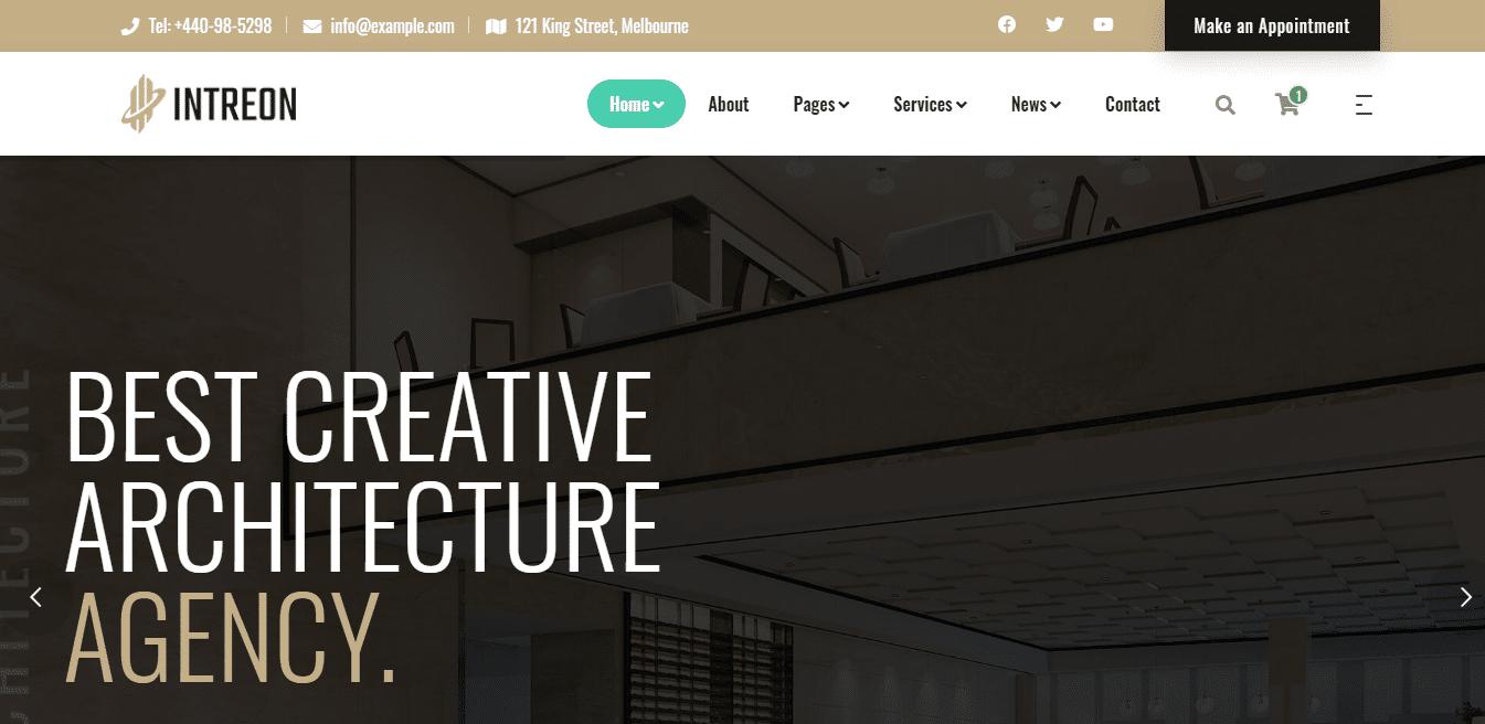intreon-interior-design-website-template