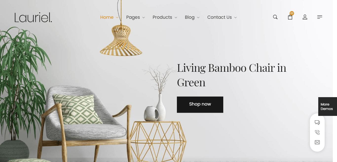 lauriel-interior-design-website-template