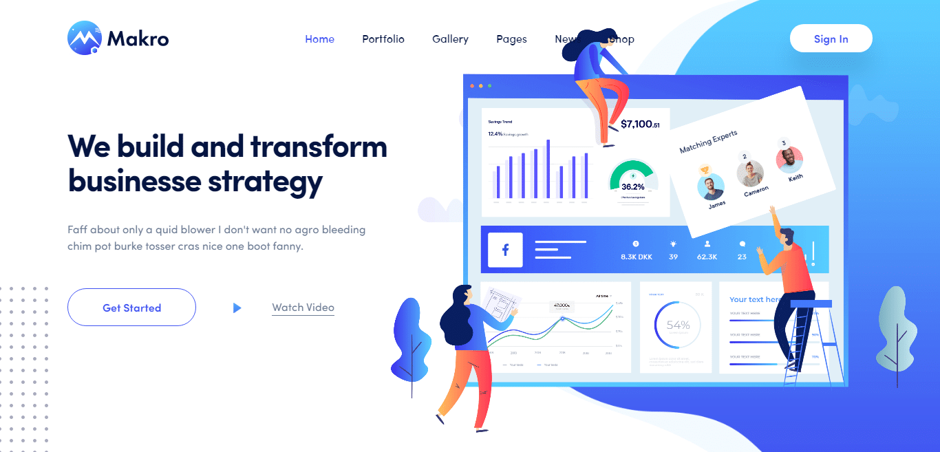 makro-graphics-designer-website-template